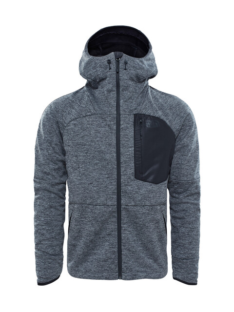 The North Face Thermoball Windwall Hooded Jacket Men Black Heather